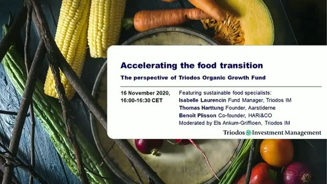 Accelerating the food transition