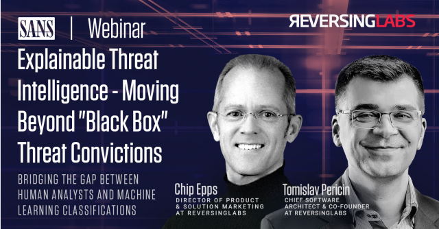 "Explainable Threat Intelligence - Moving Beyond ""Black Box"" Threat Convictions"