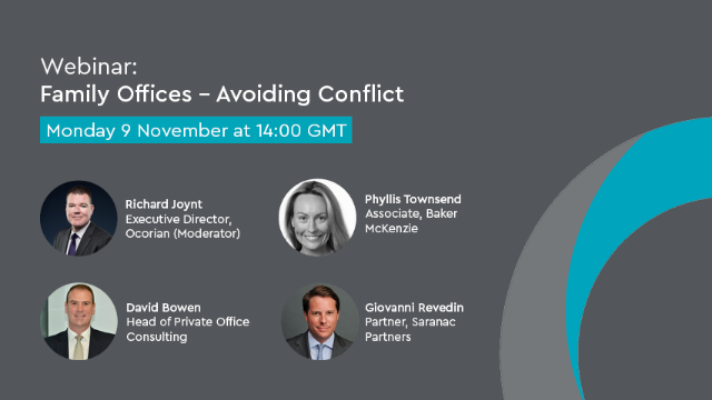 Family Offices – Avoiding Conflict