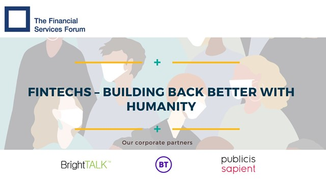 Fintechs – Building Back Better With Humanity