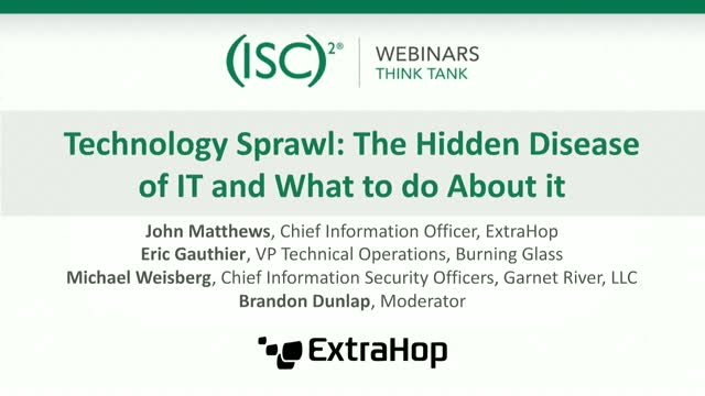 Technology Sprawl: The Hidden Disease of IT and What to do About it