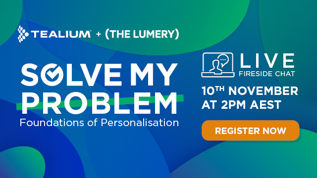 Solve my Problem Series - Foundations of Personalisation