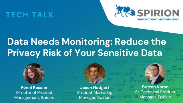 Data Needs Monitoring: Reduce the Privacy Risk of Your Sensitive Data