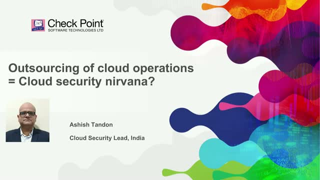 Outsourcing of Cloud Operations = Cloud Security Nirvana?