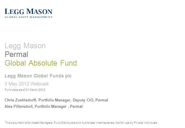 Legg Mason Permal Global Absolute Fund