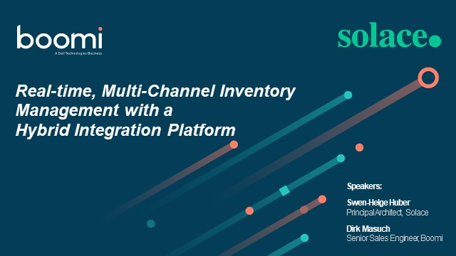 Real-time, Multi-channel Inventory Management with a Hybrid Integration Platform