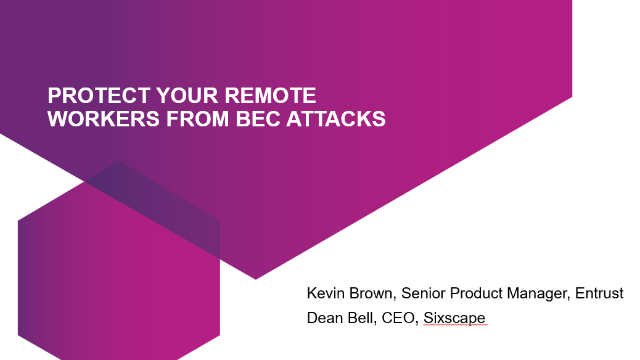 Protect your remote workers from BEC attacks
