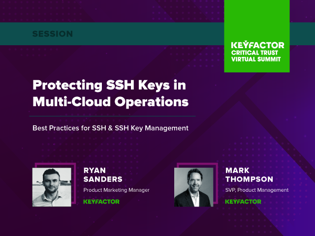 Protecting SSH Keys in Multi-Cloud Operations