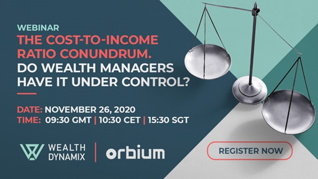 The Cost-to-Income Ratio Conundrum. Do Wealth Managers Have it Under Control?