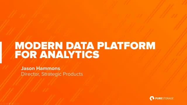Modern Data Platform for Analytics