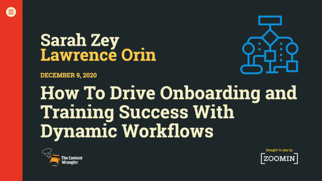 How to Drive Onboarding and Training Success With Dynamic Workflows