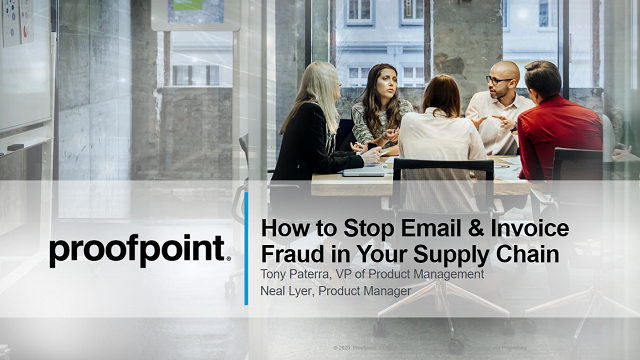 How to Stop Email and Invoice Fraud in Your Supply Chain