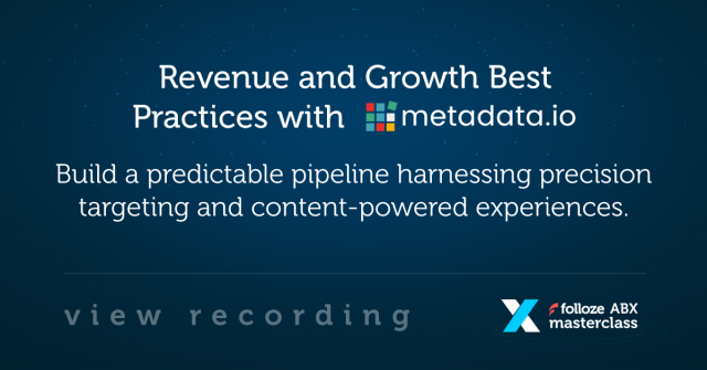 Revenue and Growth Best Practices
