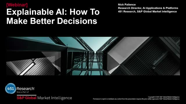 Explainable AI: How to Make Better Decisions