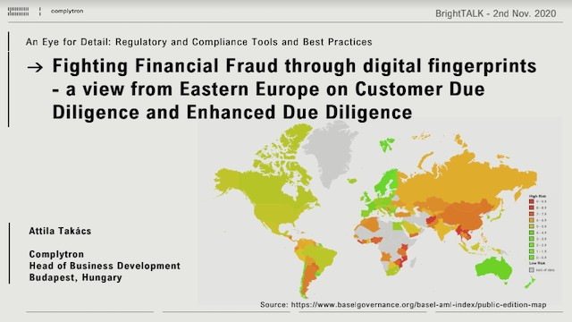 Fighting financial fraud through digital fingerprints – An Eastern European view