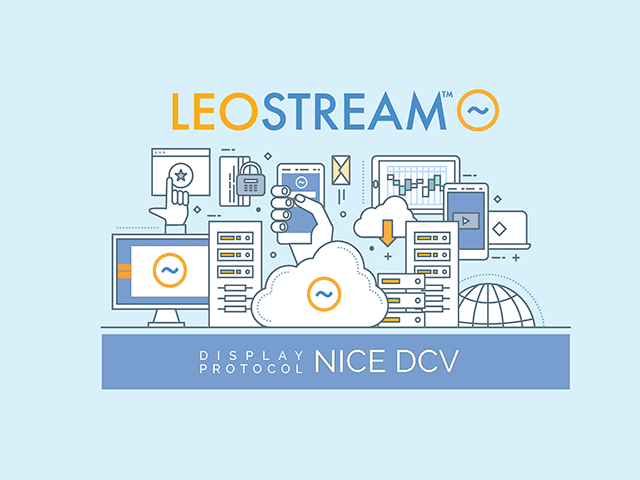 Leostream & NICE DCV Integration - Demonstrated on AWS