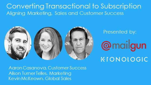 Converting Transactional to Subscription Revenue