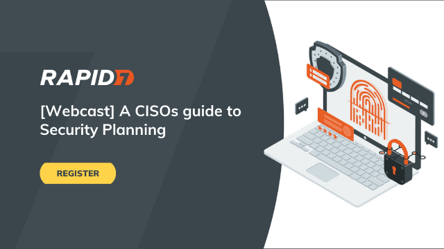 [APAC] A CISOs guide to Security Planning