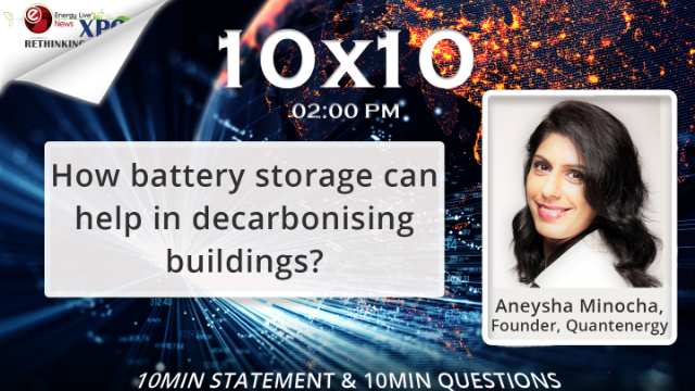 How battery storage can help in decarbonising buildings?