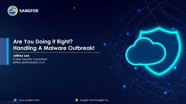 Are You Doing It Right? Handling a Malware Outbreak