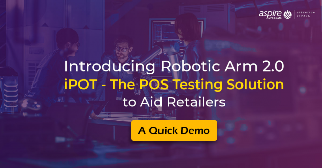 Robotic Arm 2.0 | iPOT (Intelligent Point of Sale Operational Testing) | POS Tes