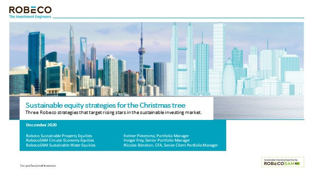 Three sustainable strategies for the Christmas tree