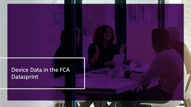 Device Data in the FCA Datasprint