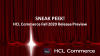 HCL Commerce Fall 2020 Release - Sneak Peek