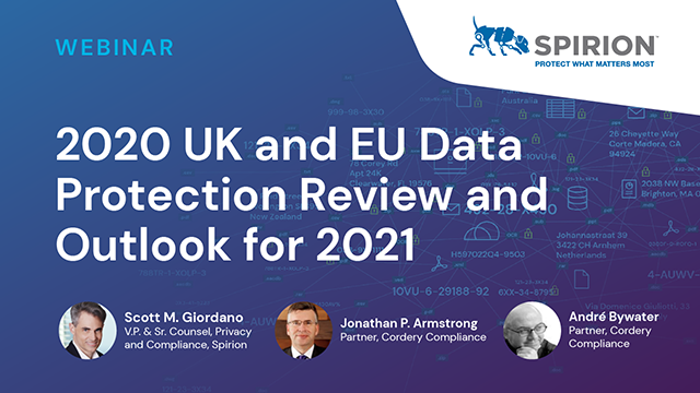 2020 UK and EU Data Protection Review and Outlook for 2021