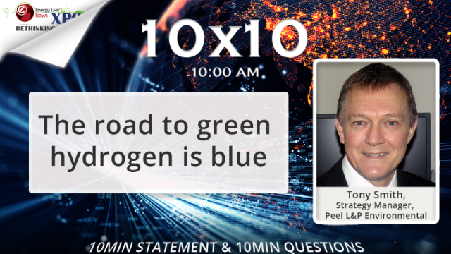 The road to green hydrogen is blue