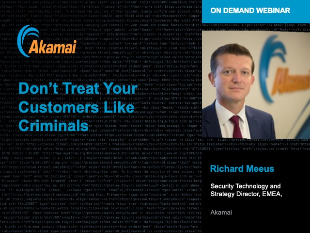 Don't Treat Your Customers Like Criminals