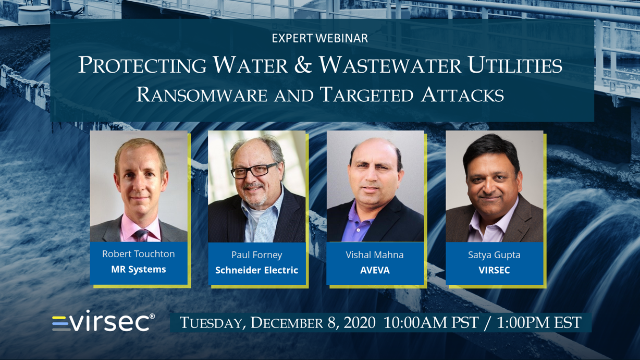 Protecting Water & Wastewater Utilities from Ransomware and Targeted Attacks