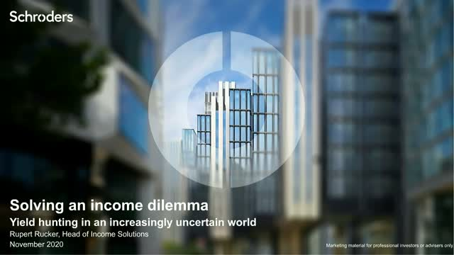 Solving the Income Dilemma