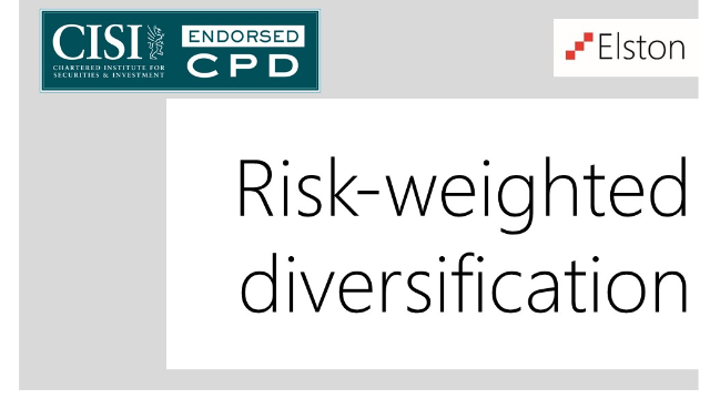 CPD: Risk-weighted diversification