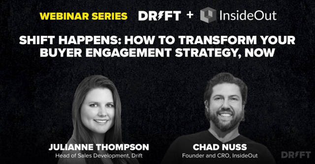 Shift Happens: How to Transform Your Buyer Engagement Strategy, NOW