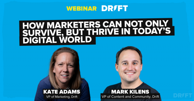 How Marketers Can Not Only Survive, But Thrive in Today's Digital World