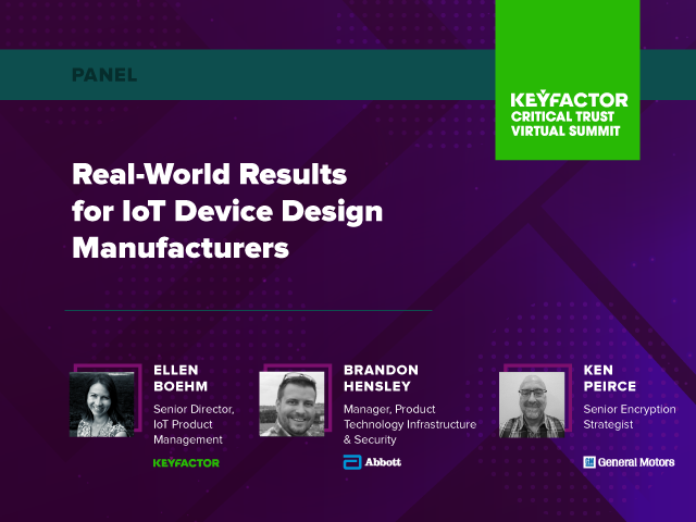 Real-World Results for IoT Device Design Manufacturers