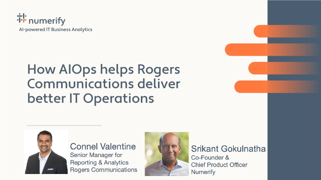 How AIOps helps Rogers Communications deliver better IT Operations