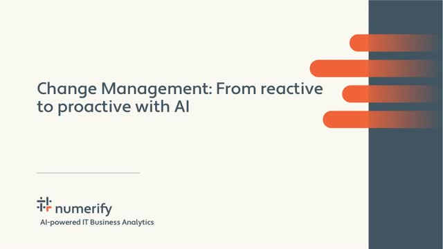 Change Management: From Reactive to Proactive with AI