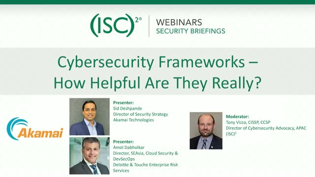 Cybersecurity Frameworks - How Helpful Are They Really?