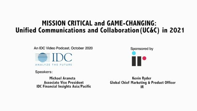 Mission Critical: UCC in 2021 For Financial Services in APAC/MEA