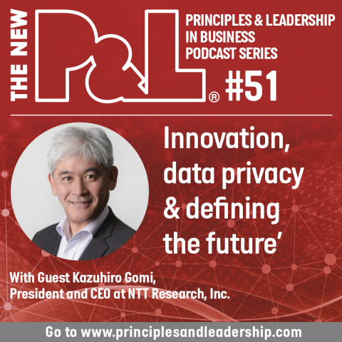 The New P&L discusses Innovation, Data & Defining the Future with Kazuhiro Gomi
