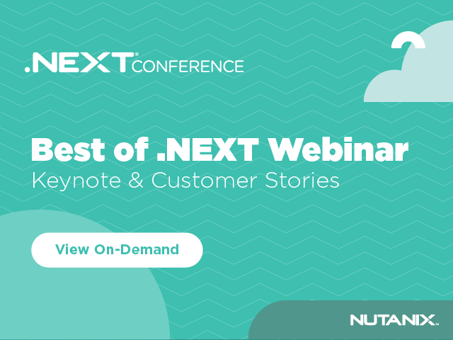 Best of .NEXT - Keynotes & Customer Stories