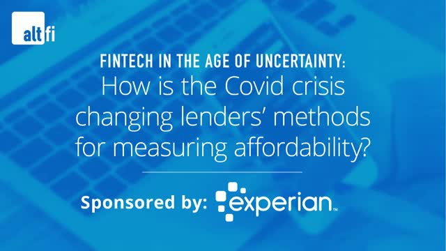 How is the Covid crisis changing lenders' methods for measuring affordability?