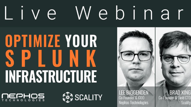 Nephos and Scality – helping you optimize your Splunk infrastructure
