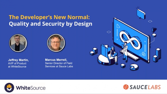 The Developer's New Normal: Quality and Security by Design