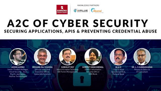A2C of cyber security - Securing Applications, API & Preventing Credential Abuse