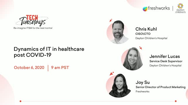 Tech Tuesdays Episode 5:Dynamics of IT in healthcare: A COVID-19 impact analysis