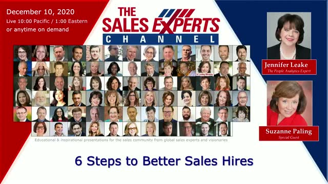 6 Steps to Better Sales Hires