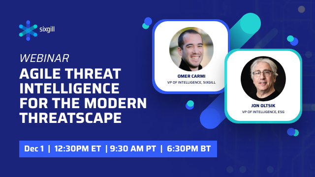 Agile Threat Intelligence for the Modern Threatscape